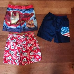 Other - Boys swimsuit lot x 3, size 3/3T.